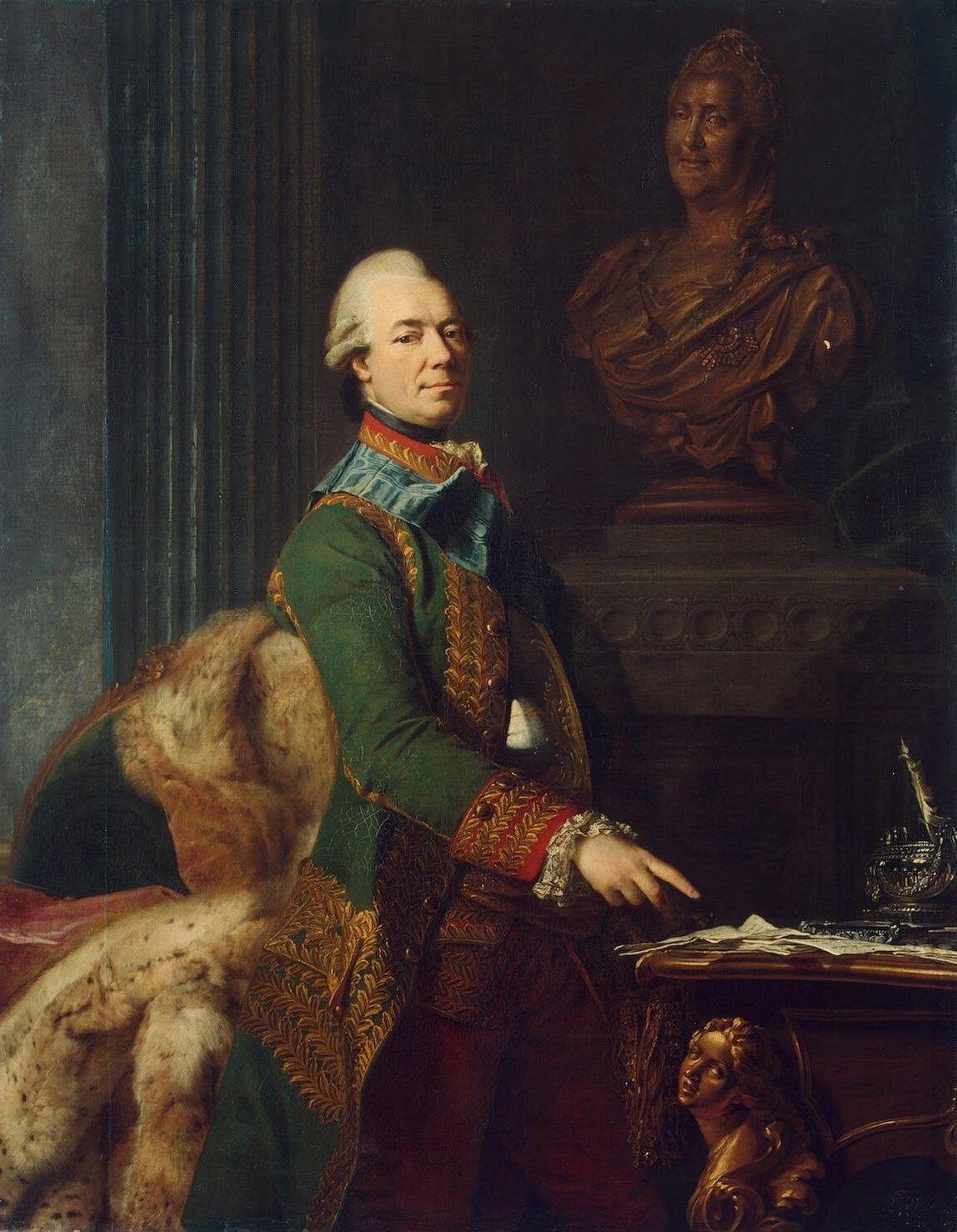 Hand Painted Portrait Oil Painting Zakhar Chernyshev Portrait Art Portrait Gallery