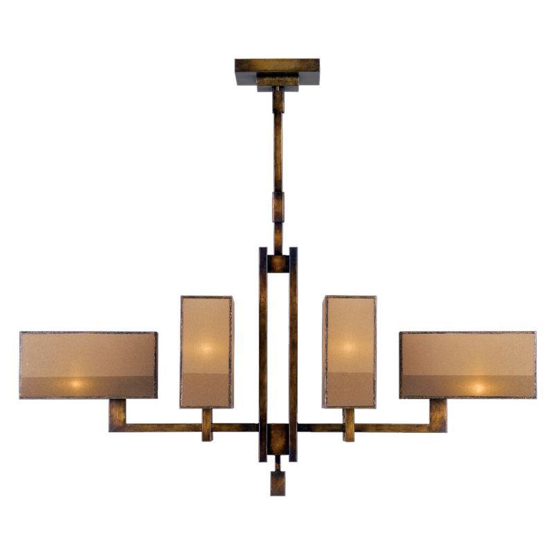 Fine Art Lamps 734040st Chandelier Chinese Lamps Linear Chandelier