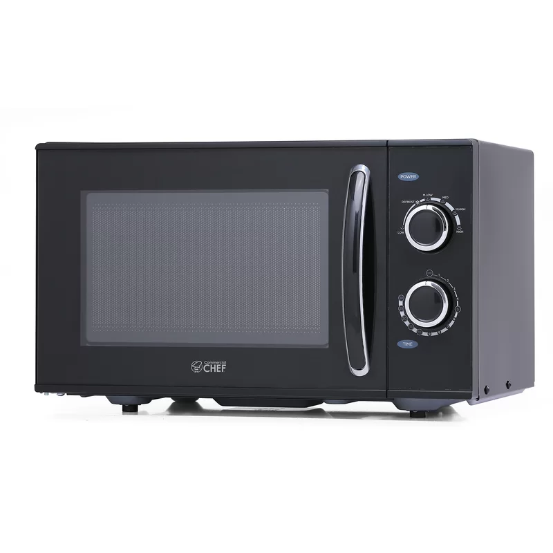 Commercialchef 19 0 9 Cu Ft Countertop Microwave With Sensor