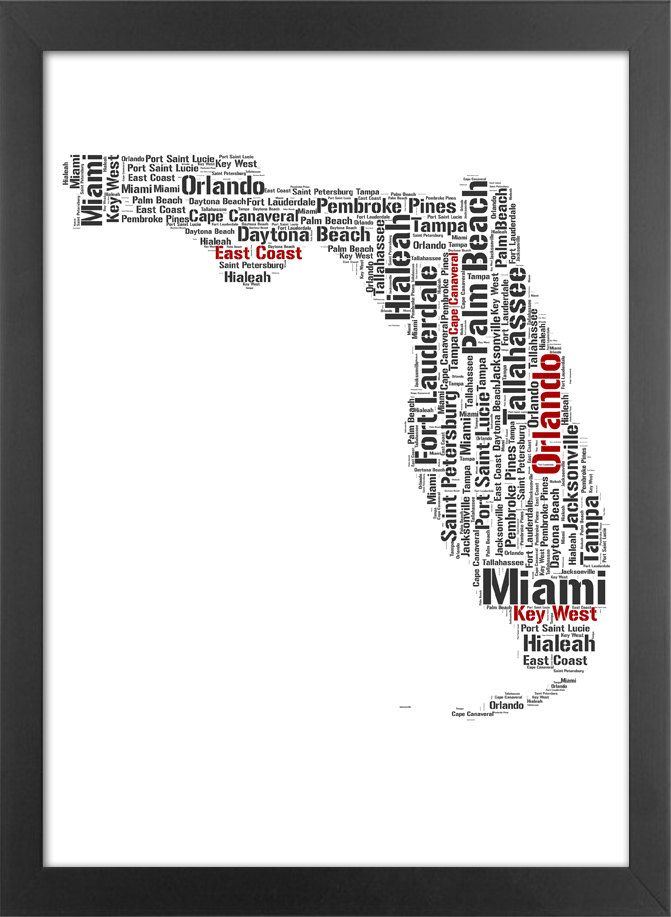 Florida Typography. Great to frame for house in Florida | The ...