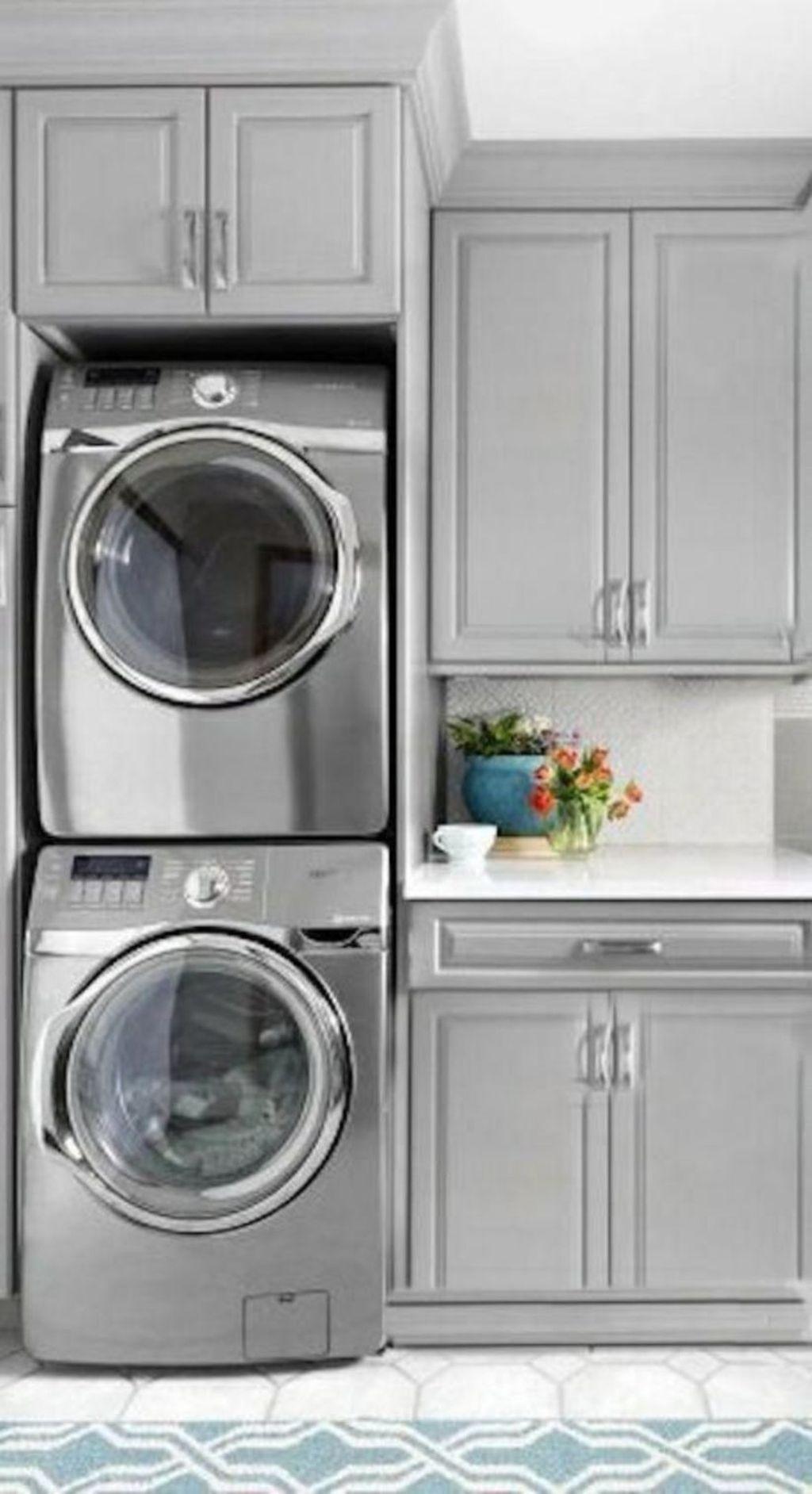 Photo of 34 Inspirierende Ideen für kleine Waschküchen