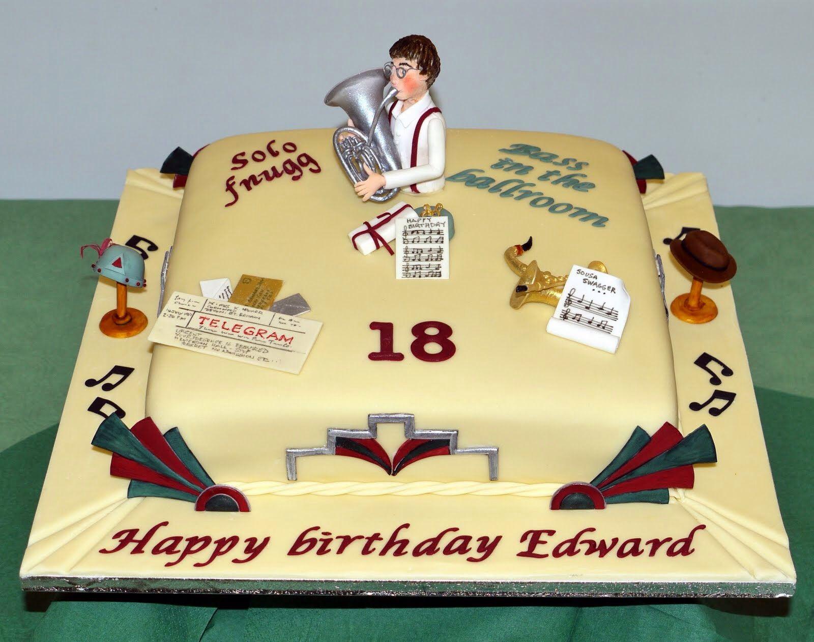 Tamworth Cake Shop – Brithday Cake