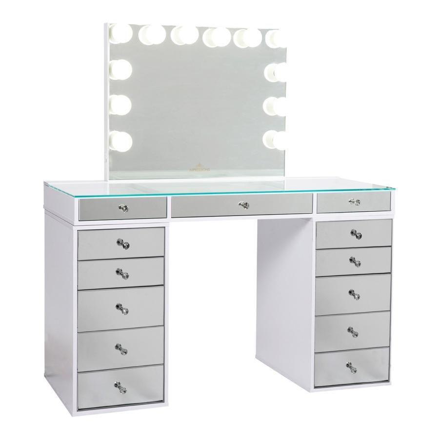 Vanity Mirror 5 Drawer Units