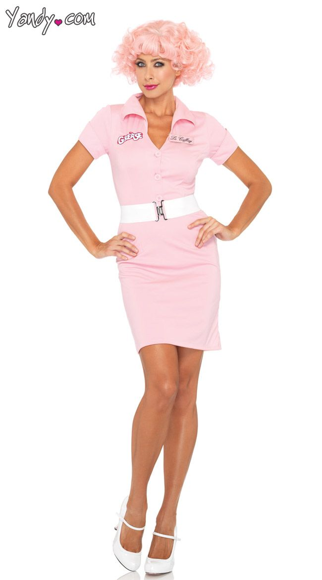 Beauty School Drop Out Uniform Grease costumes, Costumes and - greaser halloween costume ideas