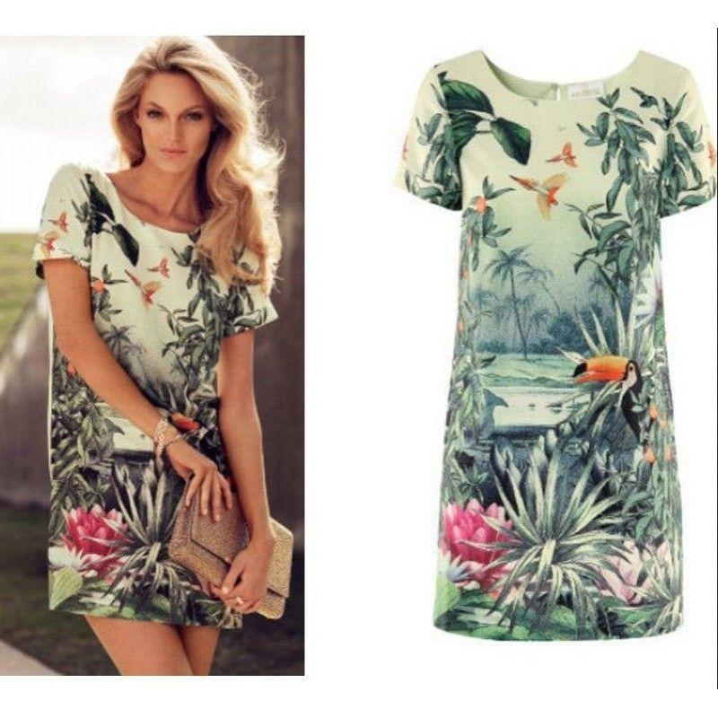 vestidos curtos estampados 2015 - Pesquisa Google