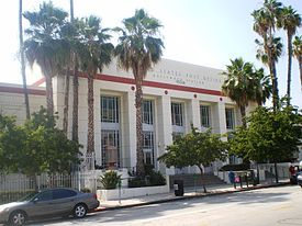 United States Post Office Hollywood California National Register Of Historic Places Post Office Architecture