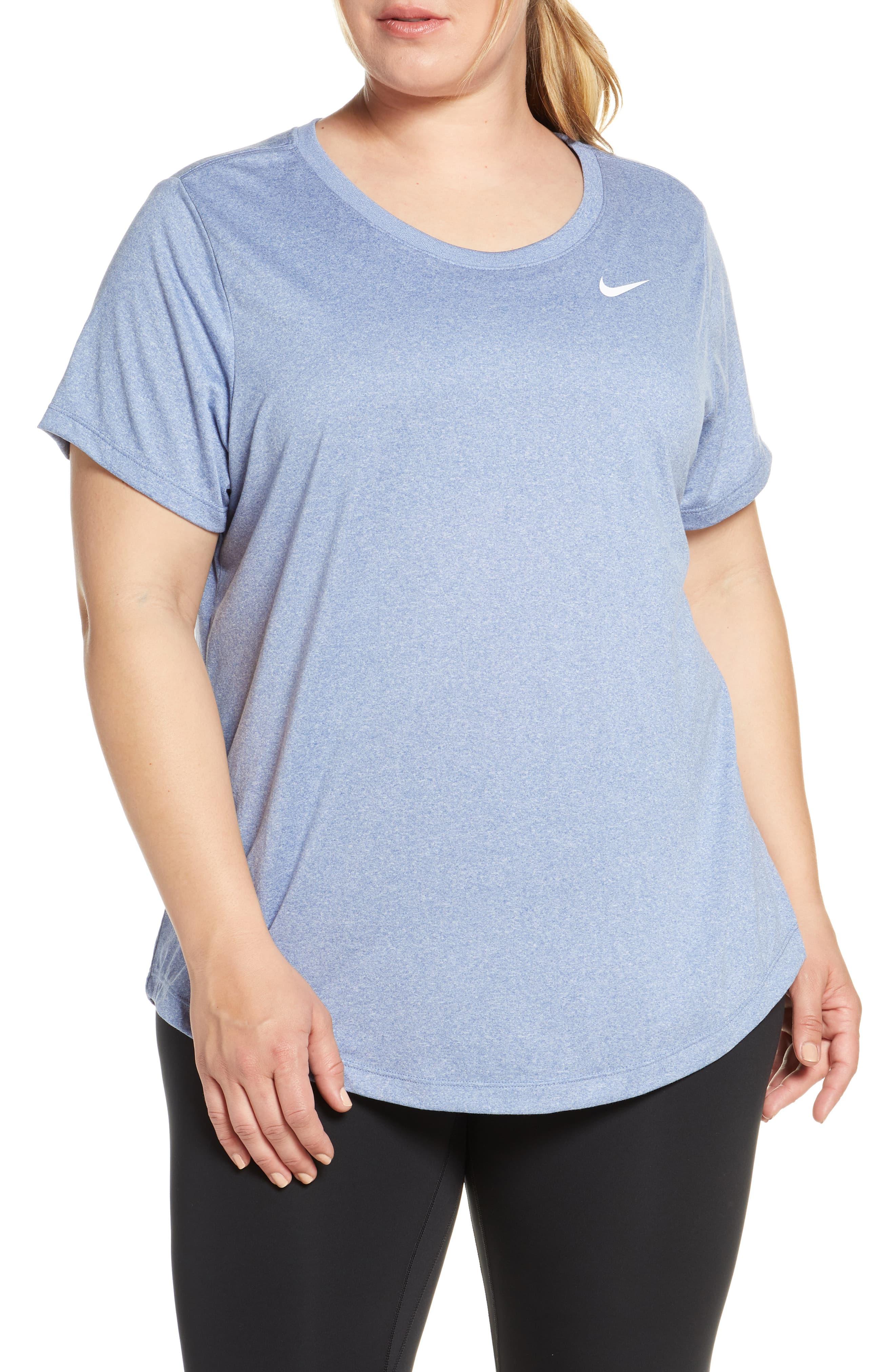 Plus Size Women's Nike Dri Fit Legend T Shirt, Size 3X