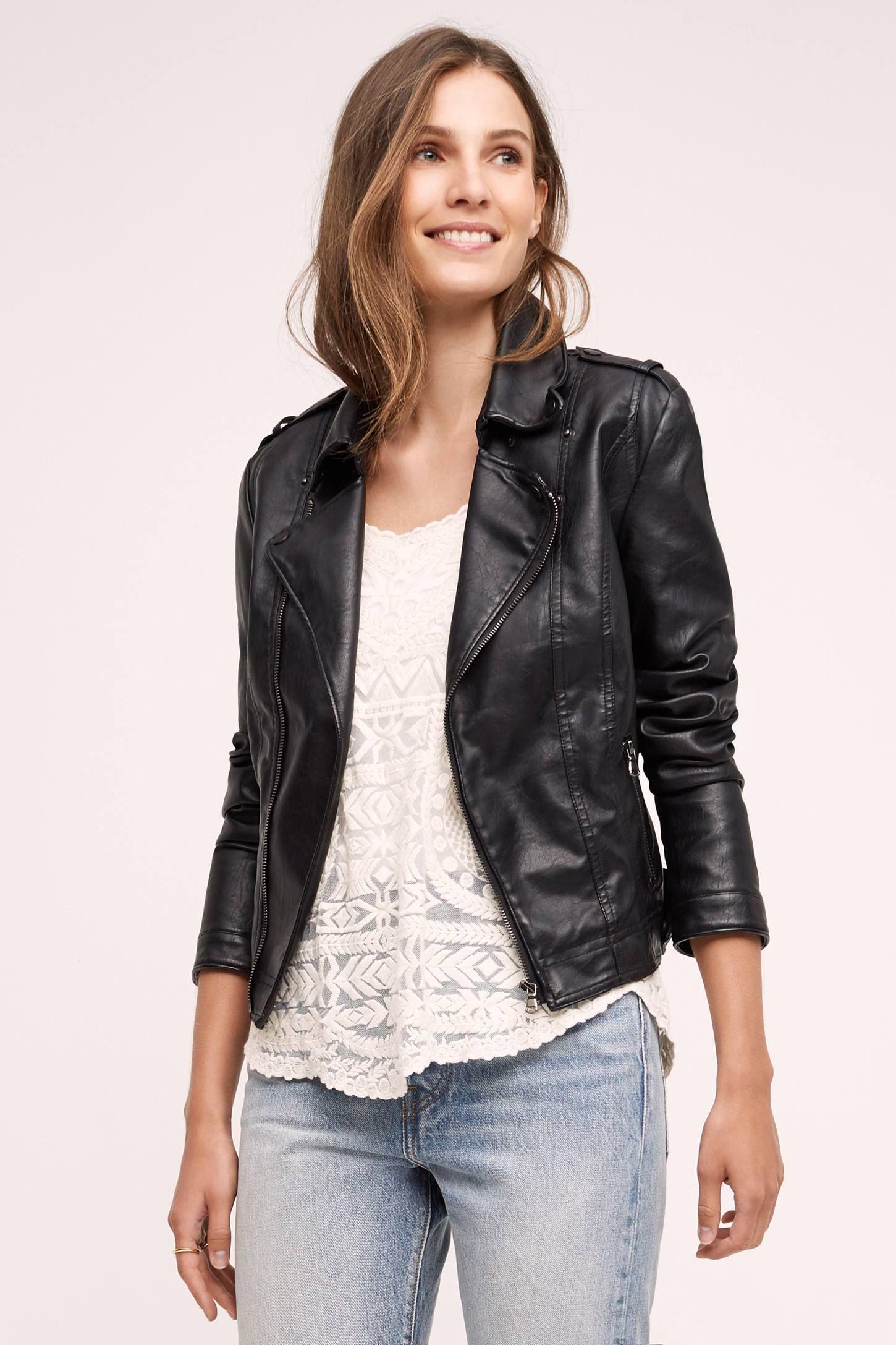 Vegan Leather Moto Jacket With Images Vegan Leather Moto Jacket Leather Moto Jacket Faux Leather Moto Jacket