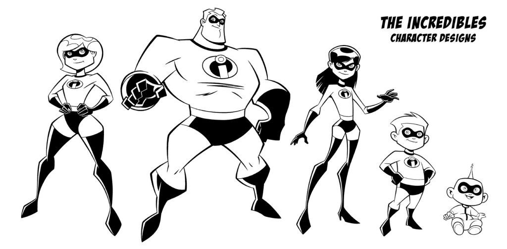 Incredibles Coloring Pages (With images) Cartoon
