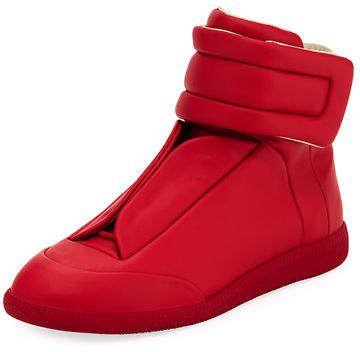 045775de1c80d Maison Margiela Future Basic Leather High-Top Sneaker