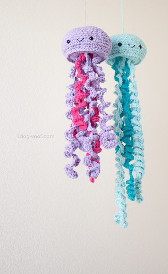 Crochet Jellyfish With Free Pattern Video Instructions | Angels ...