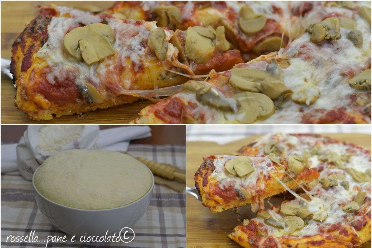 Ricetta Pizza E Pane.190 Pizza Focaccia Ideas Focaccia Food Pizza