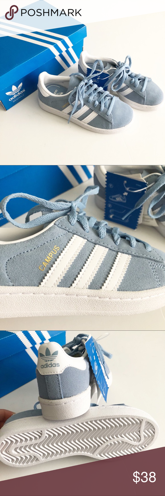 NWT! Adidas Campus Originals Sneakers Brand new! Great