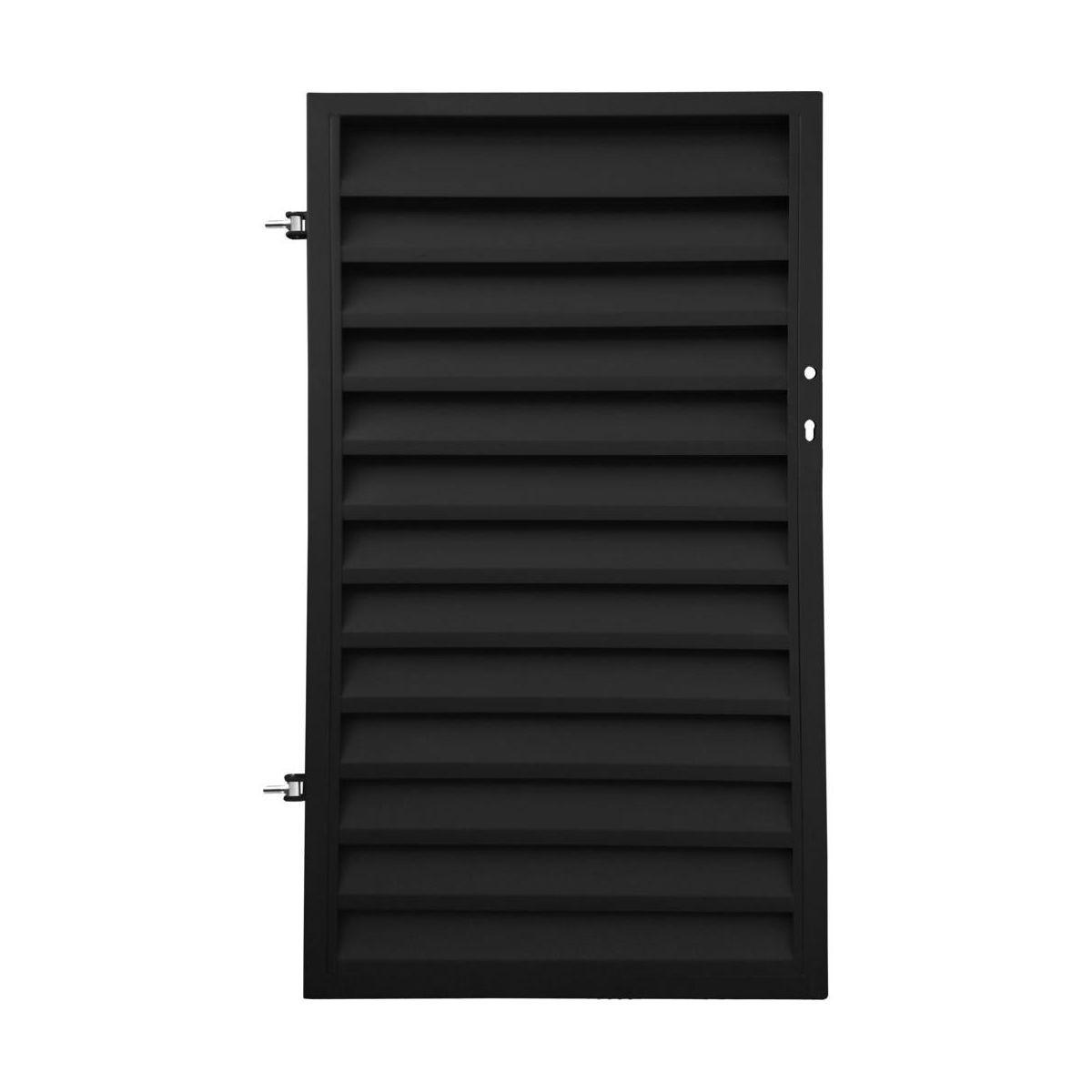Furtka Ogrodzeniowa Kreta 90 Cm Lewa Polbram Czarna Furtki Ogrodzeniowe W Atrakcyjnej Cenie W Sklepach Leroy M Tall Cabinet Storage Storage Cabinet Storage