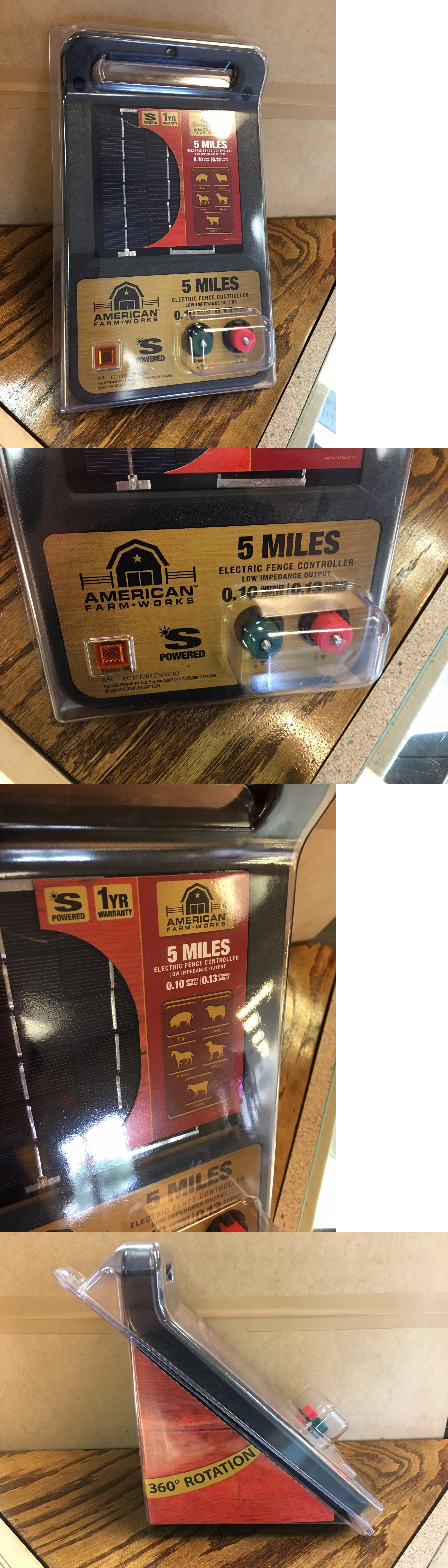 electric fence chargers new american farm works esp5mac