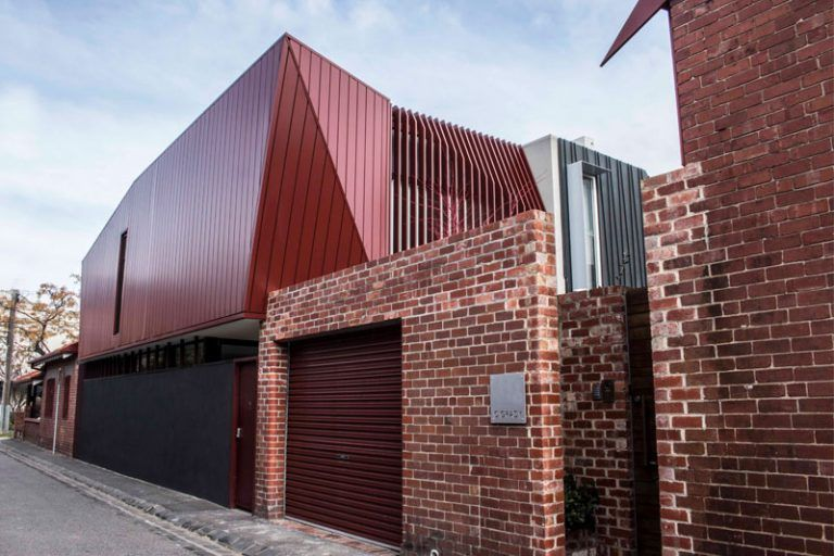 Colorbond More Than Just A Roof With With Images Cladding Systems Roof Cladding House Cladding