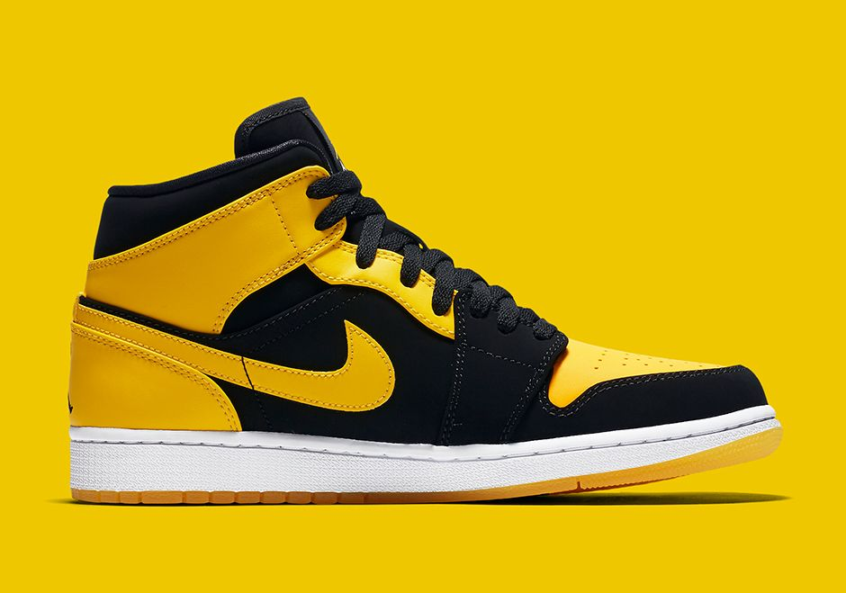 The Air Jordan 1 Mid New Love (Style Code  554724-035) is getting a proper  2017 retro later this year featuring a remastered upper in Black and Yellow. 62d6cdddb