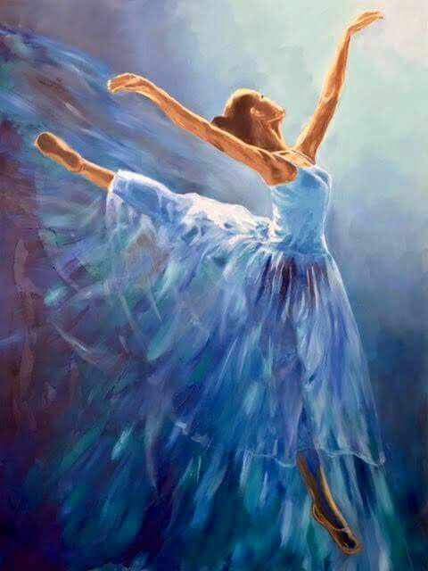 Beautiful Art | Dancers art, Ballerina painting, Ballet painting
