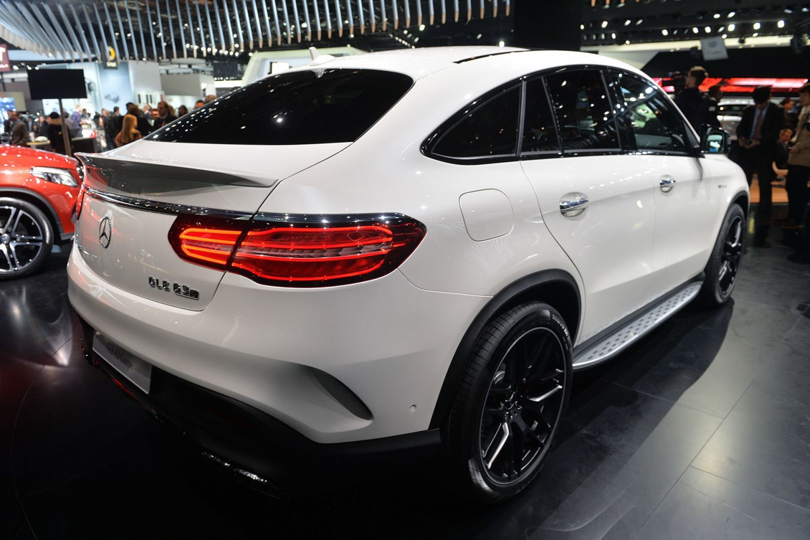 Mercedes Benz Gle Coupe 450 Amg And Gle63 At 2015 Detroit Auto