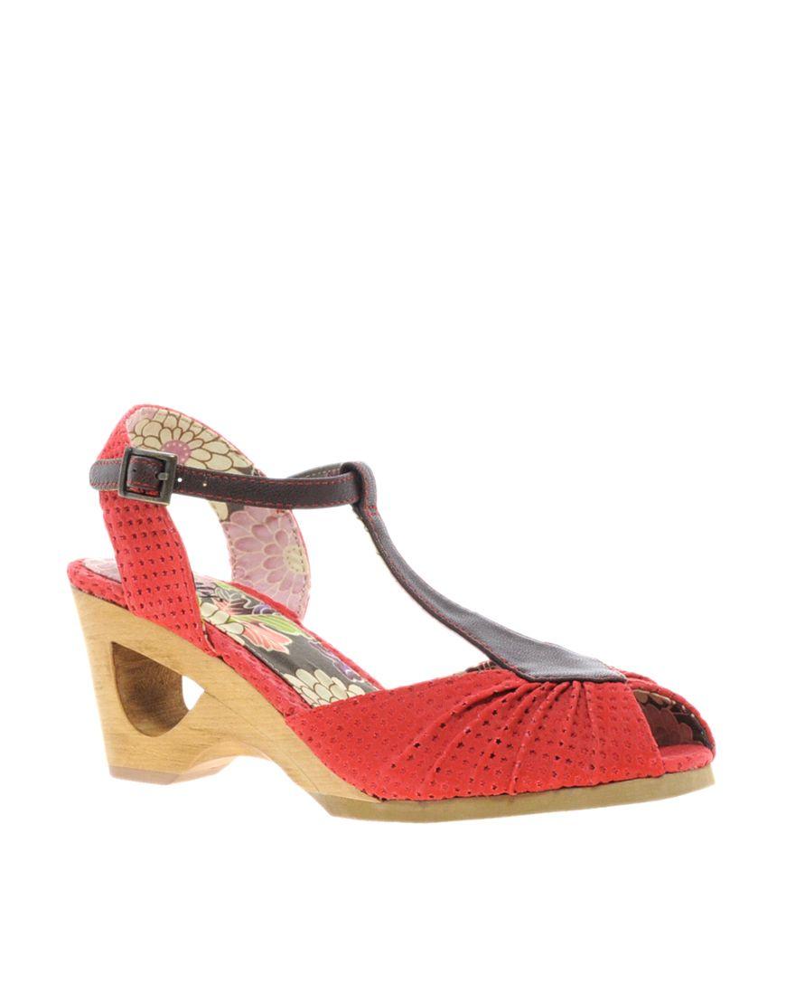 a33f33f2058ac Cut-Out T-Bar Shoes   Shoes   Pinterest