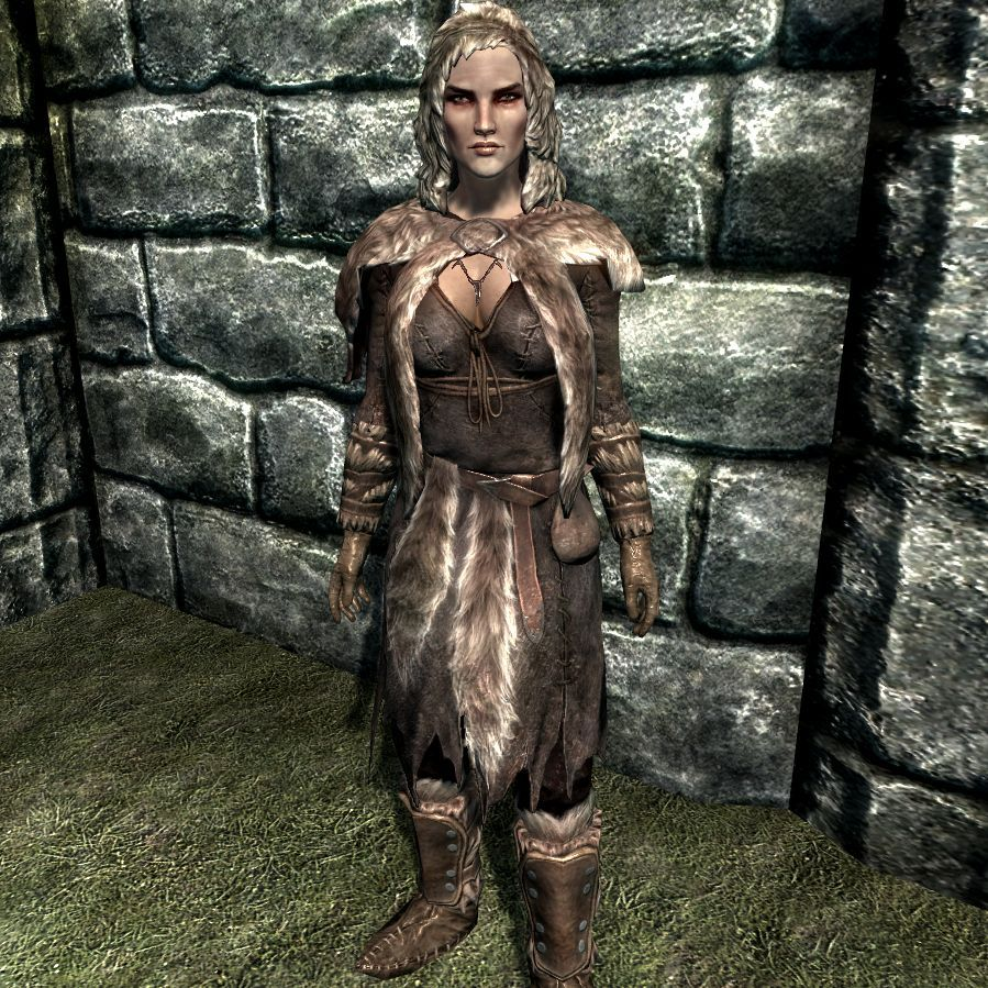 Skyrim Fur Armor that is not too revealing