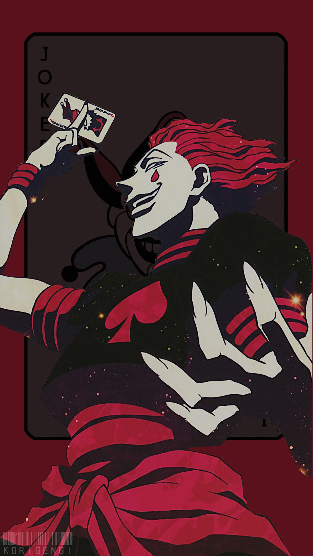 1080x1920 Hisoka Korigengi Wallpaper Anime Iphonehunter X