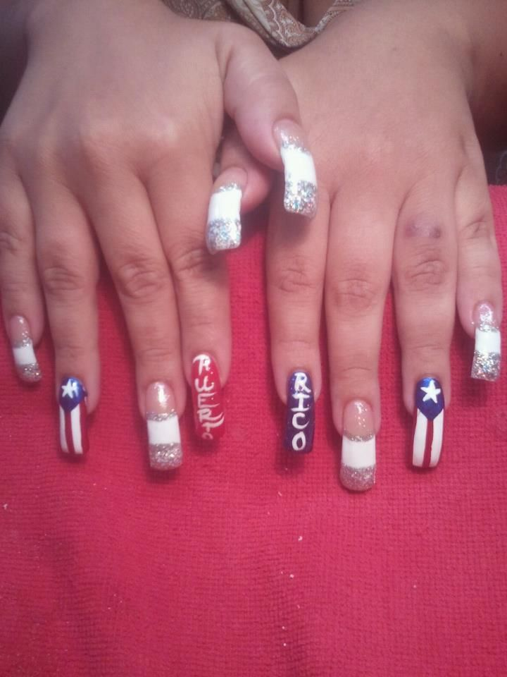 Puerto Rico Nails Beauty The Beast In 2018 Pinterest Nails