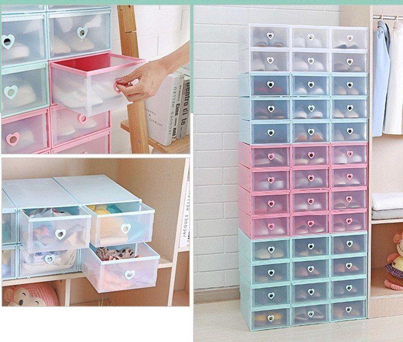 Thickened Multifunctional Drawer Storage Box Organizer Transparent Toys Shoes Storage Box Combined Drawer Cabinet Drawers Plastic Drawers Cabinets Organization