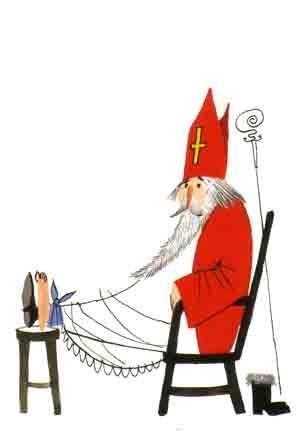 ook Sinterklaas is wel eens moe-Fiep Westendorp