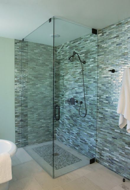 rectangle shower with doors - Google Search