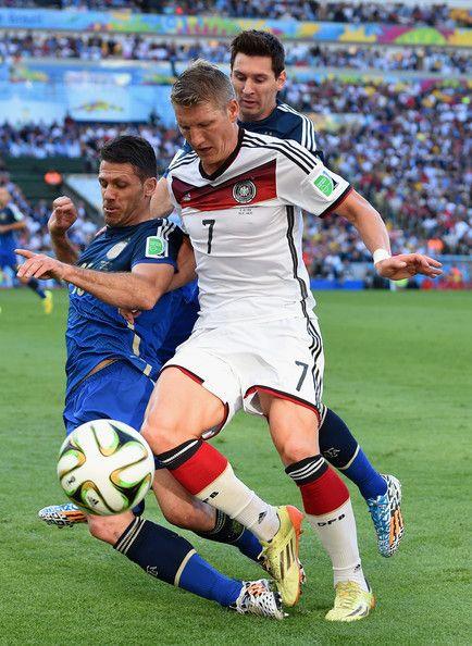 Bastian Schweinsteiger Photos Photos Germany V Argentina Bastian Schweinsteiger Schweinsteiger Germany Football