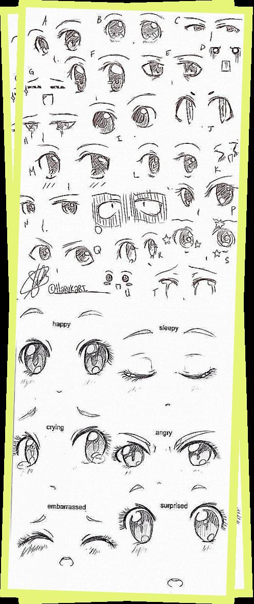 Anime Eyes By Harukarix3 On Deviantart Anime Eyes Anime Anime Monsters