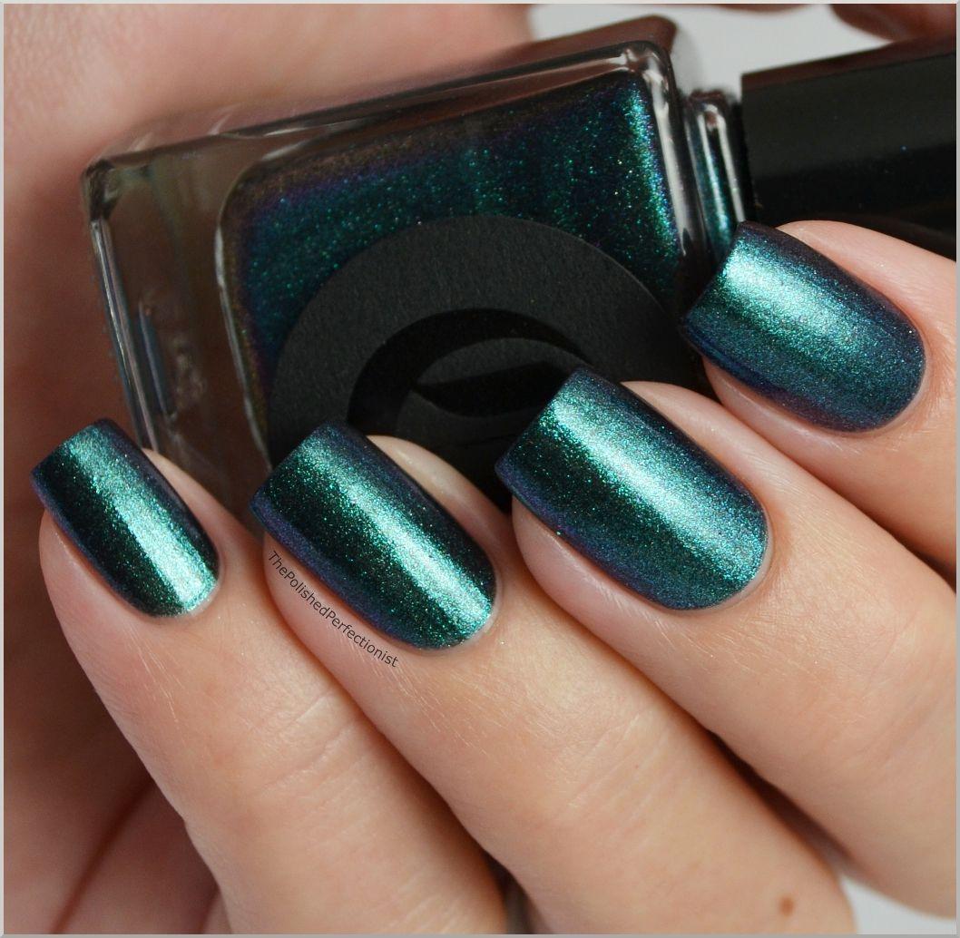 Cirque Epoch | Nail colors | Pinterest | Natural nails, Blue nails ...