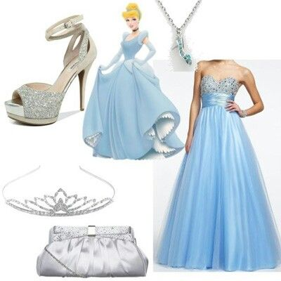 Disney Princess Cinderella Prom Dress