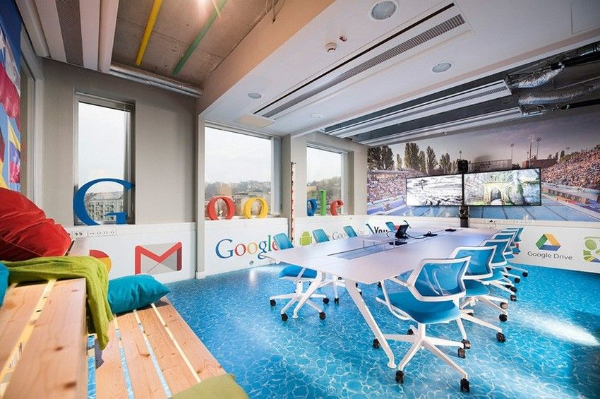 spa theme as inspiration for the energetic google offices in rh pinterest com