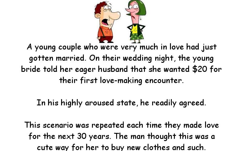 Wedding humor strange sex laws