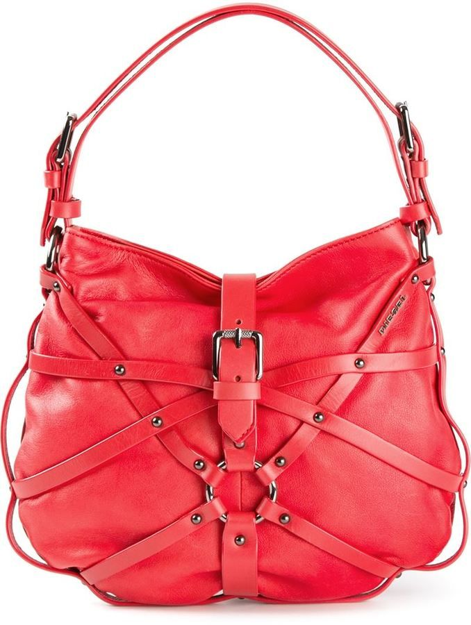 b8781c46c Diesel 'Julie' tote Diesel $146.73 Love the RED colour of this bag ...