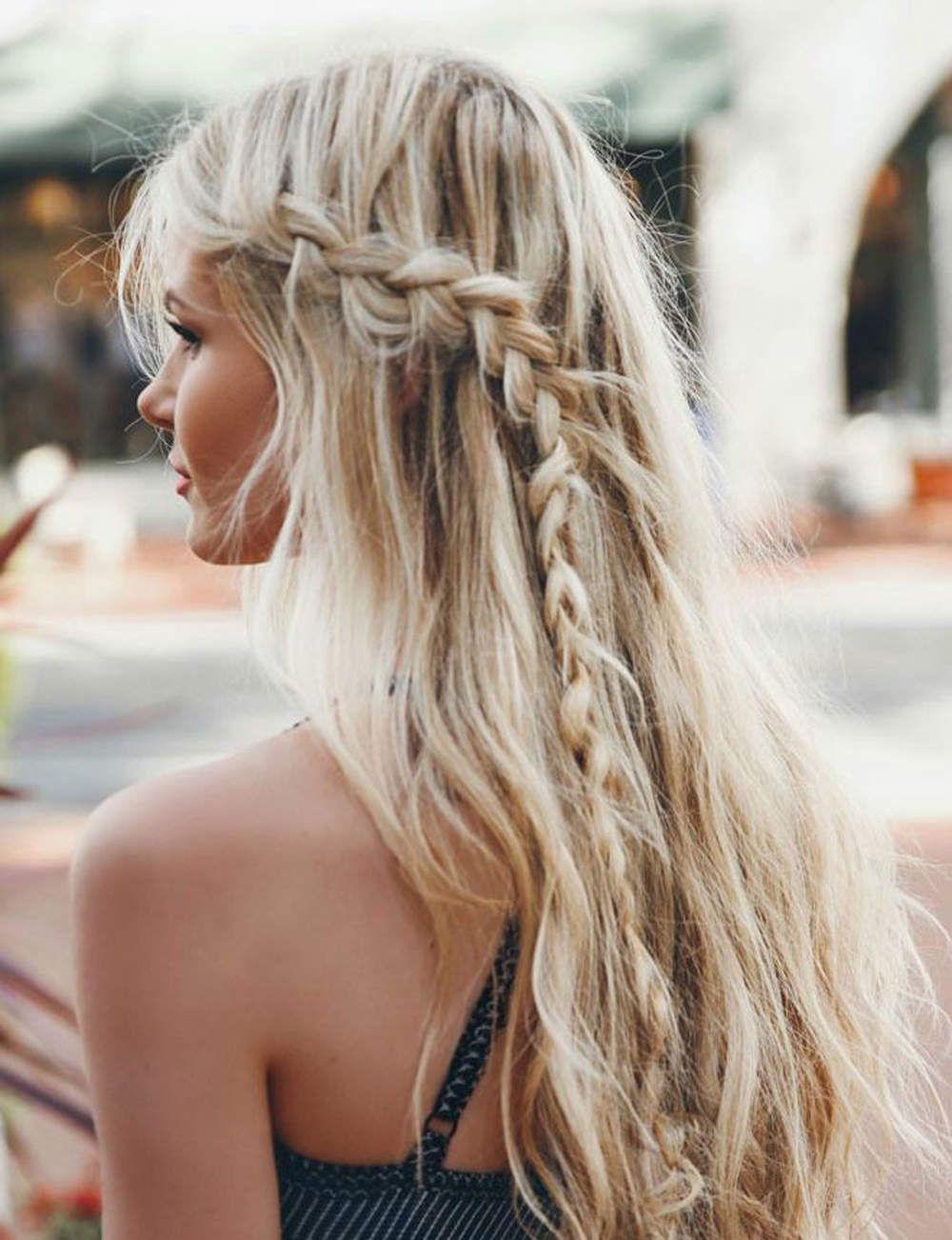 Nos idées de coiffures pour aller à la plage Hair in