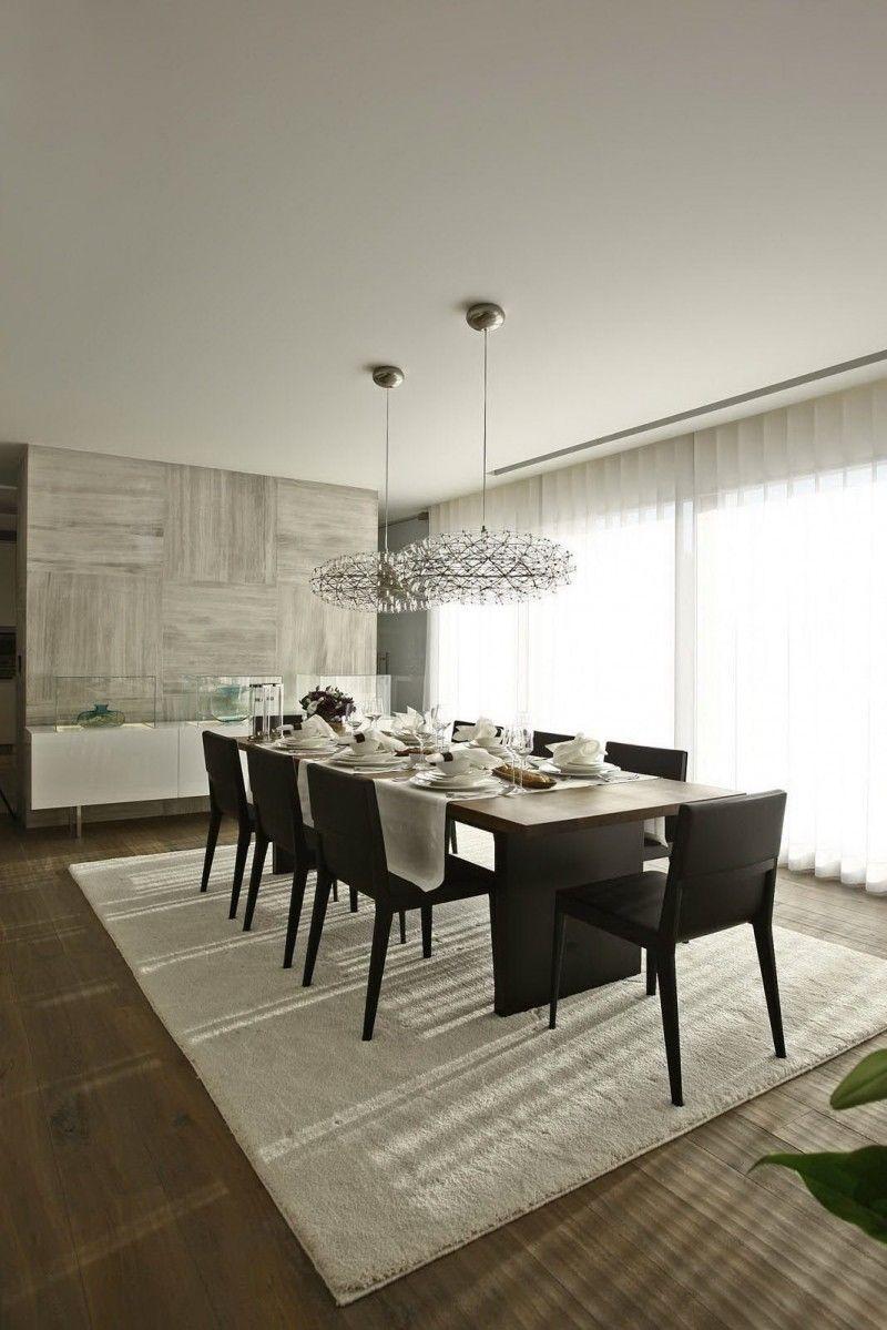 S House Interior By Tanju Ozelgin Modern Dining Rooms Contemporary Dining Room Contemporary Dining Room Design Modern