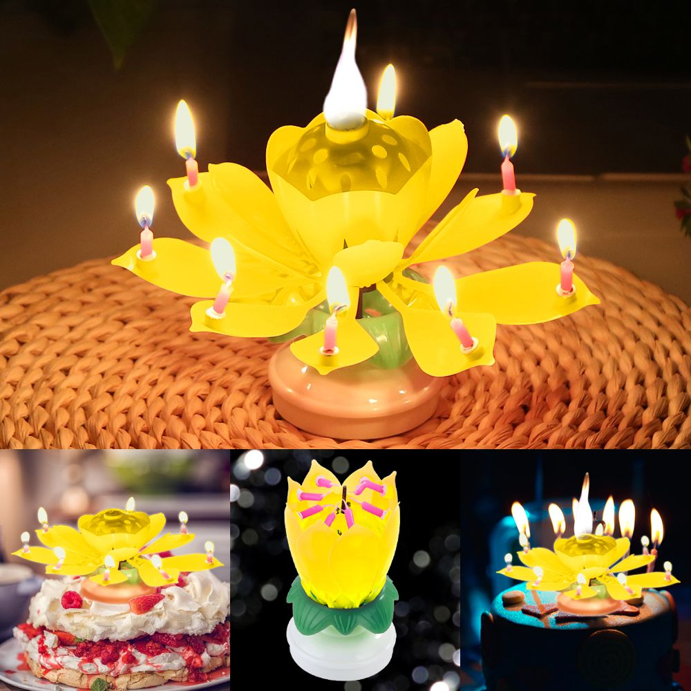 Magic Flower Birthday Candle Buy 3 Free Shipping Freelyshoppy Birthday Candles Magic Birthday Birthday Flowers