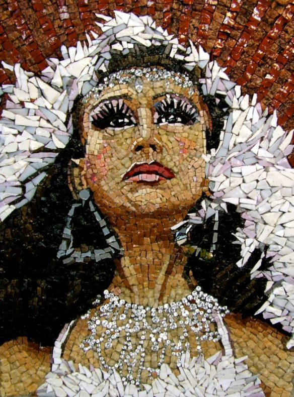 Mosaic portrait             #mosaic #art