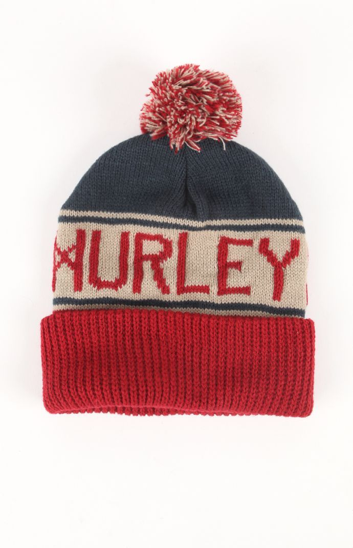 0a89f464b1f Mens Hurley Hats - Hurley Alley Pom Beanie