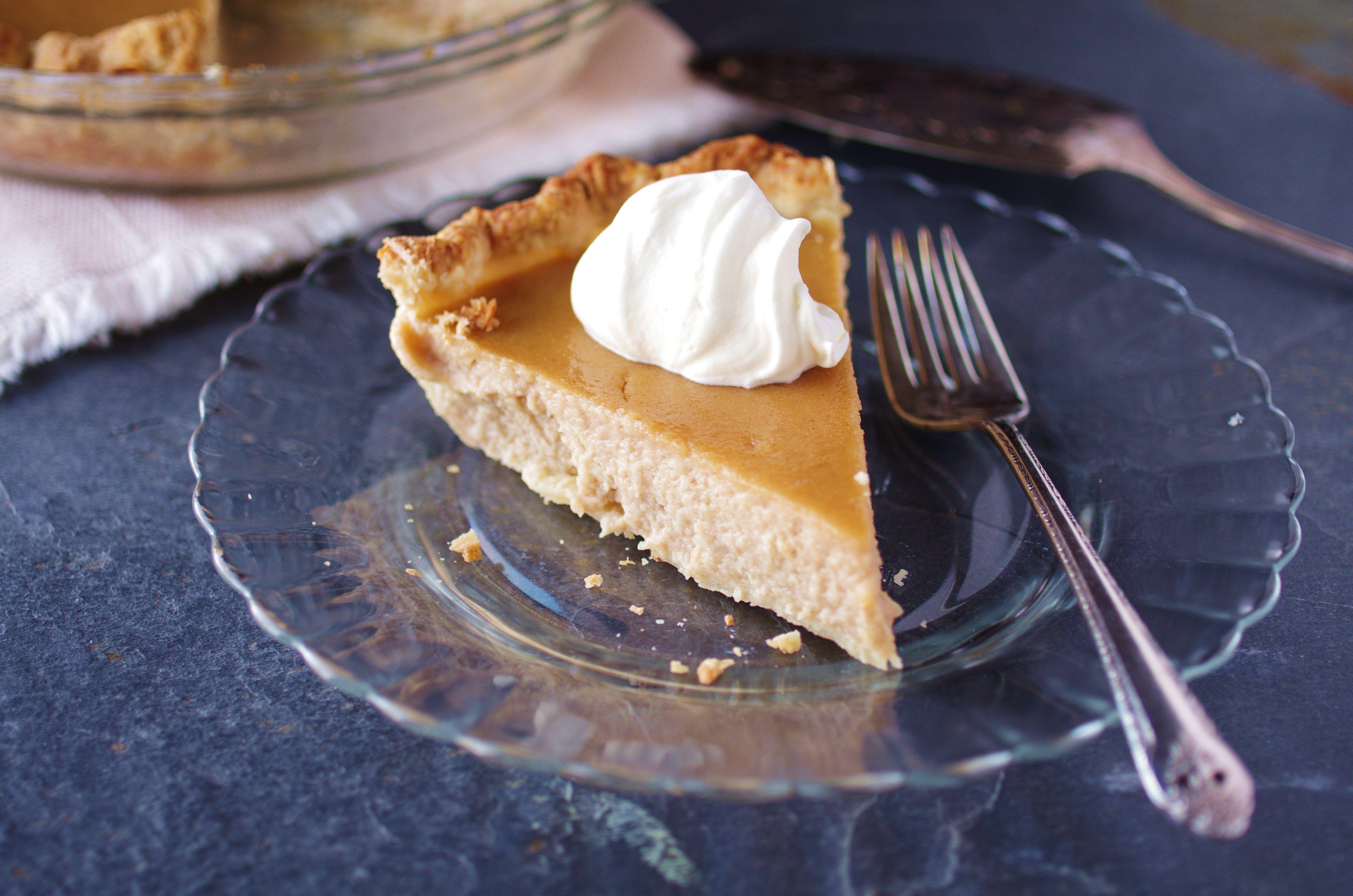 Recipe for parsnip pie