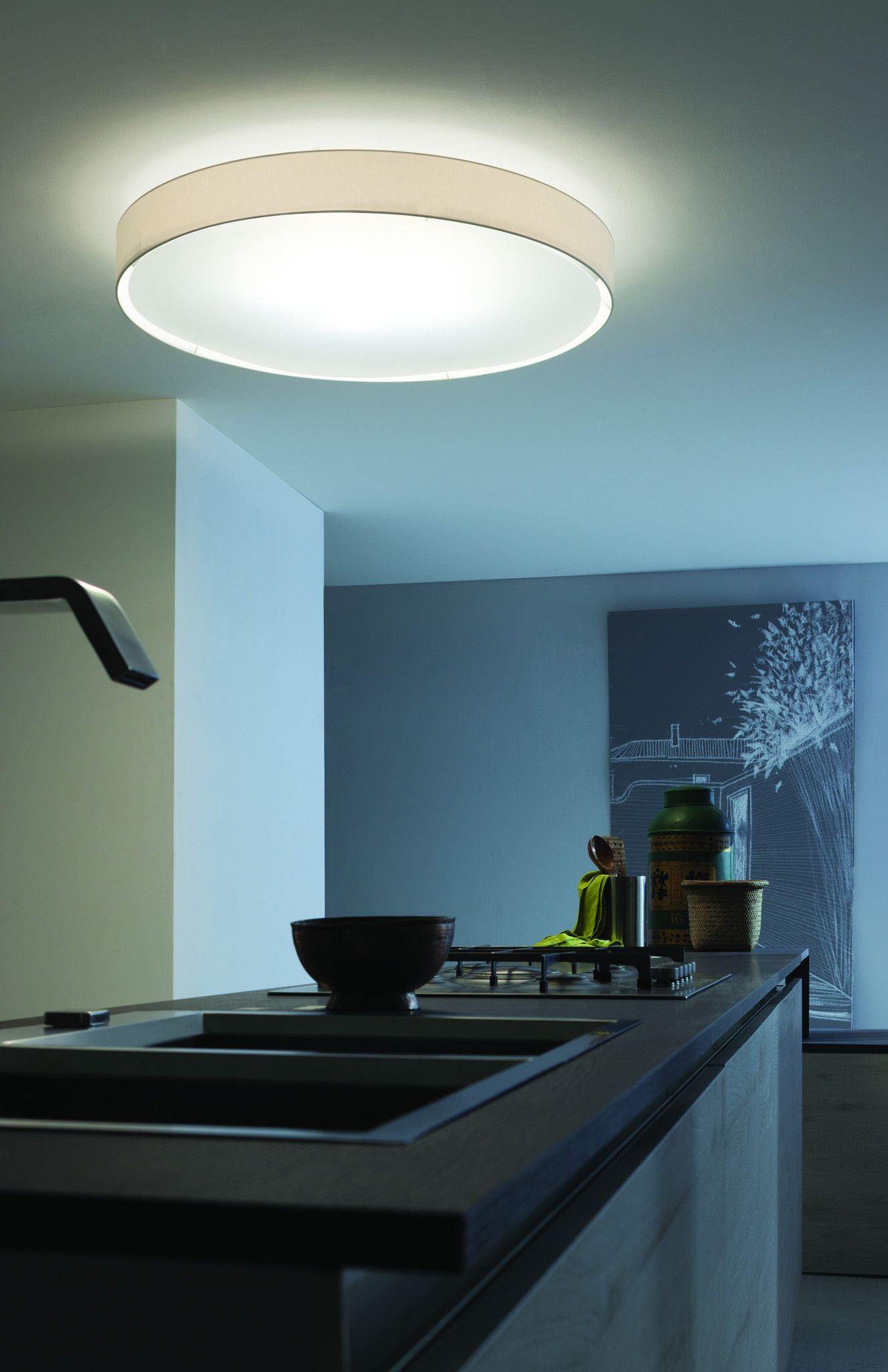 LOVE LOVE LOVE this Lucente Mirya Ceiling light for our kitchen ...