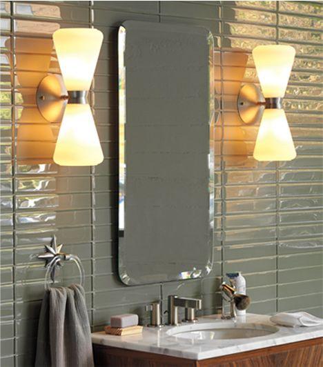 Mid Century Bathroom Light Fixtures