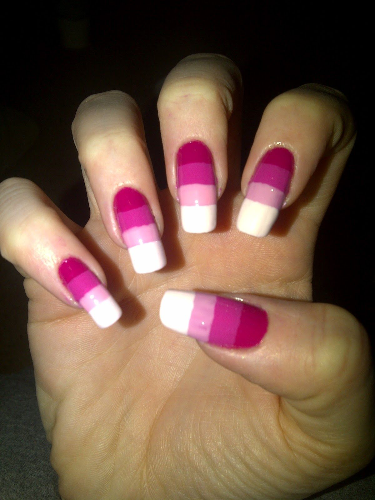 Too long but nice color | nails by Linda Evans | Pinterest