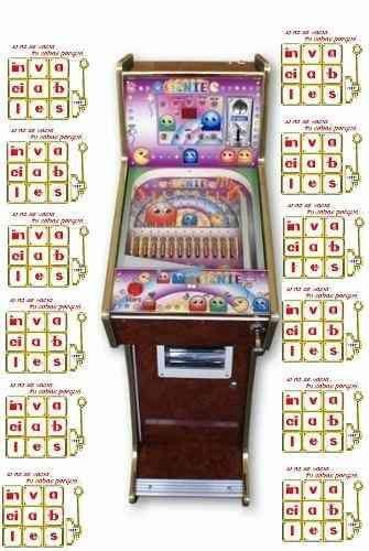 mini pinball GENIE invaciablesMR incluye manual de usuario