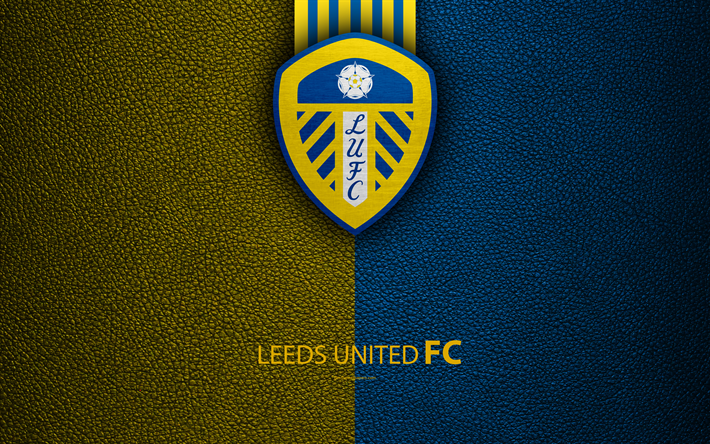 Download Wallpapers Leeds United FC, 4K, English Football