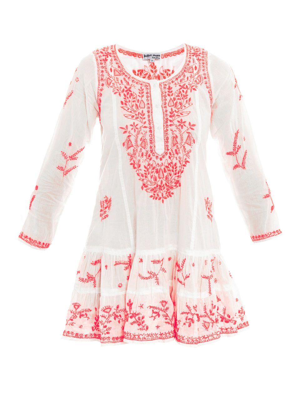 Juliet dunn jule beachwear white pink styles pinterest