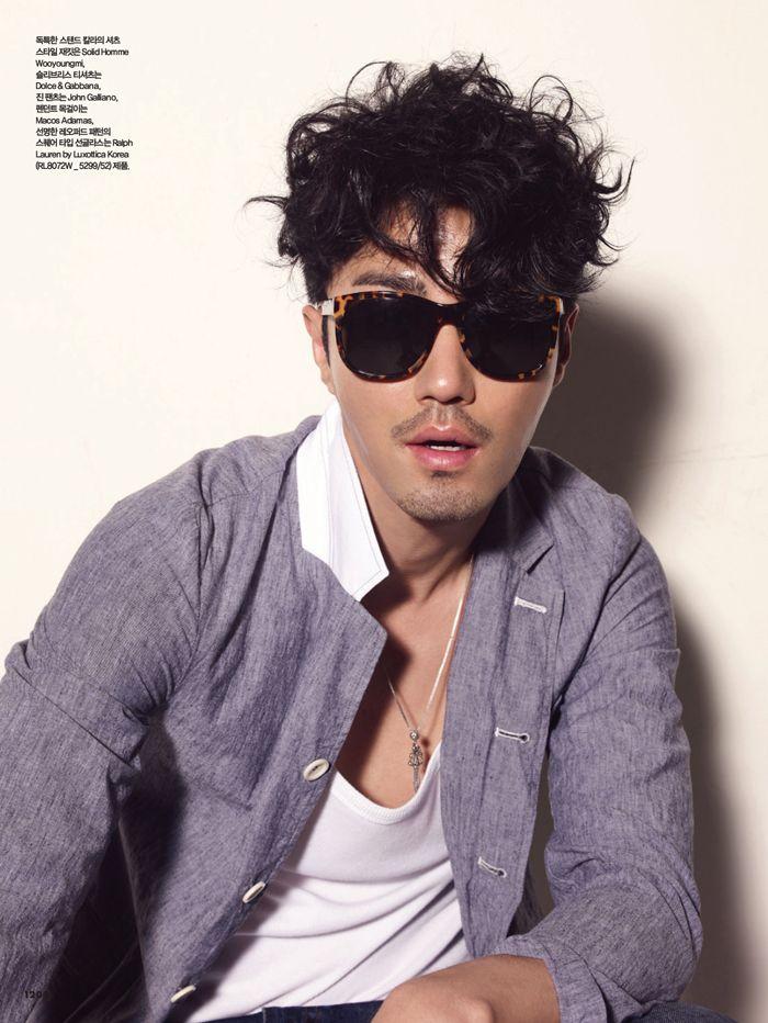 車勝元 bazaar 11年6月墨鏡寫真圖 チャスンウォン 俳優 韓国 俳優